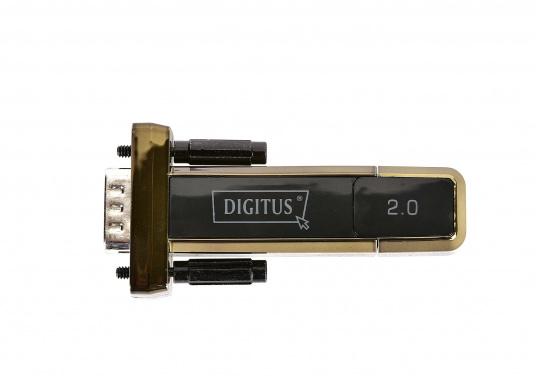 Seriell-USB-Adapter für den Anschluss von GPS-Geräten an PC / Notebook ohne COM-Schnittstelle. Der Adapter formt dieseriellen NMEA-Daten in USB 2.0 Format um.  (Bild 2 von 4)