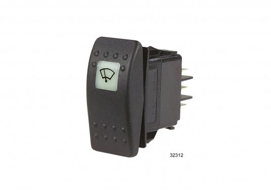 Avec cet interrupteur spécial pour les moteurs d'essuie-glace ROCA W10/W12, vous pouvez commander la vitesse et il permet la position parking.