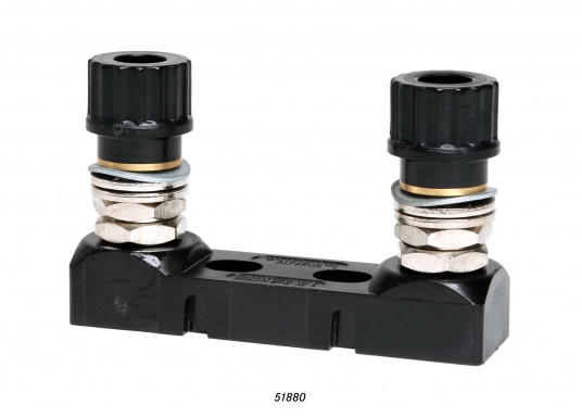 High-load fuse holder for STS fuses. Available in open design.