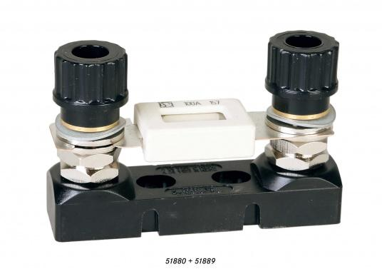 High-load fuse holder for STS fuses. Available in open design. (Image 2 of 2)