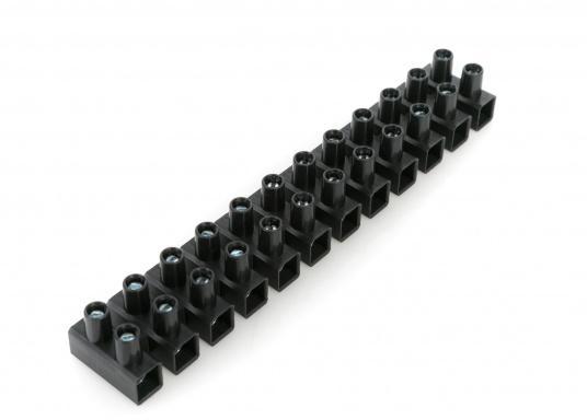 Lüsterklemmen, 12-polig. Lieferbarfür Draht-Querschnitte von 2,5 mm² bis 16 mm²  Flachsteckverbinder, 8-polig   (Bild 4 von 5)