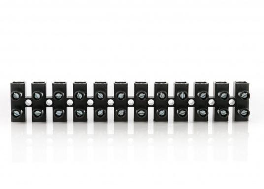 Lüsterklemmen, 12-polig. Lieferbarfür Draht-Querschnitte von 2,5 mm² bis 16 mm²  Flachsteckverbinder, 8-polig   (Bild 3 von 5)