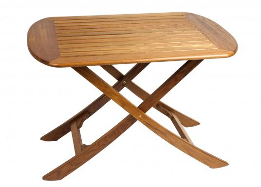 It Is; This Stylish And Beautifully Crafted Table Can Be Folded Up Quickly  And Easily.