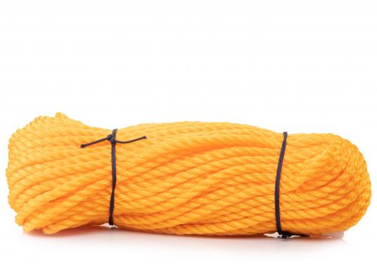 Preisgünstiges Tauwerk - ideal als Notpack oder Absperrleine. Gefertigt ausPP-Monofill-Tauwerk für untergeordneten Einsatz. In verschiedenenTau-Ø erhältlich. (Bild 4 von 5)