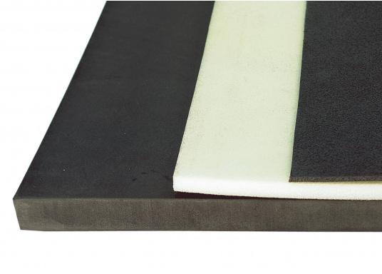 Weichschaumstoff zur Wärme-Isolierung mit vielen Vorteilen: sehr biegsam, entdröhnt, quietscht nicht, lässt sich leicht schneiden und verarbeiten. Lieferbar als Plattenware oder Rollenware.