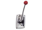 Single Lever Control, Stainless Steel