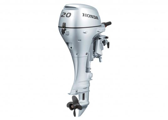 Verbesserte Beschleunigung und Verbrauch!Der AußenborderBF 20 von Honda ist ein leistungsstarker Motor mit einem drehzahloptimierten mikroprozessorgesteuerten Zündsystem.Der Außenborder BF 20 ist mit einem E-Starter und Automatik-Choke einfach zu starten.