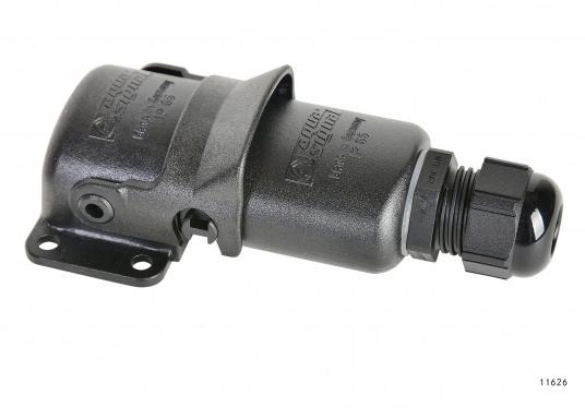 Specially developed for use on vessels in extreme conditions! These connectors are completely waterproof due to double O-ring seals and corrosion resistant.