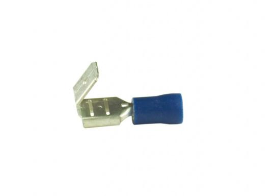 These multi-stack connectors are suitable for 6.3 mm flat plugs. Available in three different sizes and colors.