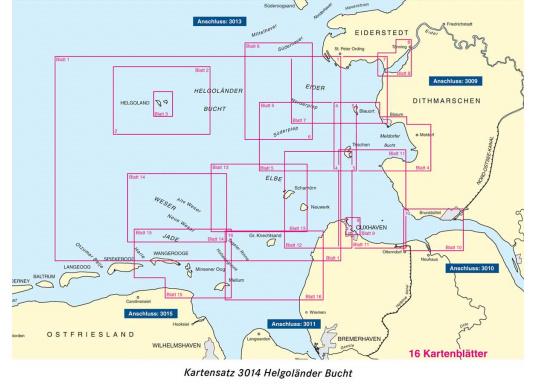 Die offiziellenBSH-Sportbootkartensätze für Nord- und Ostsee bieten zuverlässige Informationen aus erster Hand!Lieferung der Karten im handlichen DIN A2 Format für den Einsatz auf der Yacht.  (Bild 12 von 13)