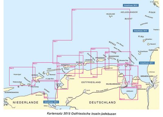 Die offiziellenBSH-Sportbootkartensätze für Nord- und Ostsee bieten zuverlässige Informationen aus erster Hand!Lieferung der Karten im handlichen DIN A2 Format für den Einsatz auf der Yacht.  (Bild 13 von 13)