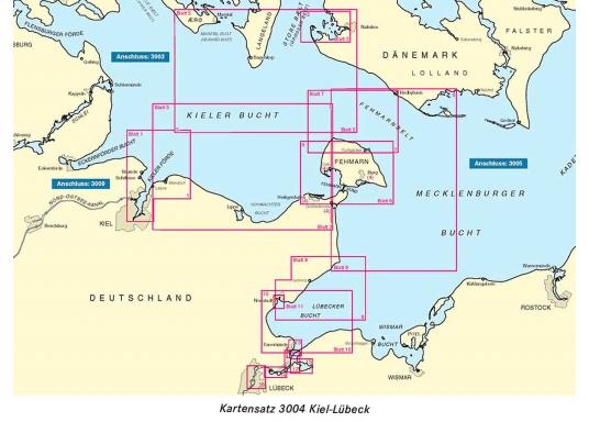 Die offiziellenBSH-Sportbootkartensätze für Nord- und Ostsee bieten zuverlässige Informationen aus erster Hand!Lieferung der Karten im handlichen DIN A2 Format für den Einsatz auf der Yacht.  (Bild 4 von 13)