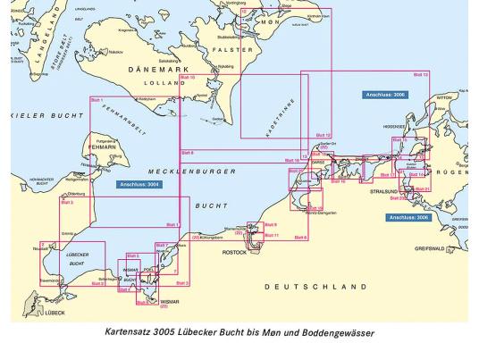 Die offiziellenBSH-Sportbootkartensätze für Nord- und Ostsee bieten zuverlässige Informationen aus erster Hand!Lieferung der Karten im handlichen DIN A2 Format für den Einsatz auf der Yacht.  (Bild 5 von 13)