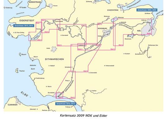 Die offiziellenBSH-Sportbootkartensätze für Nord- und Ostsee bieten zuverlässige Informationen aus erster Hand!Lieferung der Karten im handlichen DIN A2 Format für den Einsatz auf der Yacht.  (Bild 7 von 13)