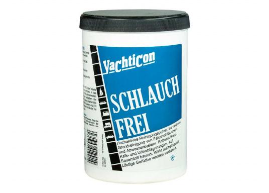 Fini les mauvaises odeurs ! Cette poudre agit activement sur les matières et nettoie les tuyaux. Agit comme un anti-bactérien et bannit les mauvaises odeurs.
