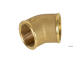 Pipe Elbows 45°, Brass MS58