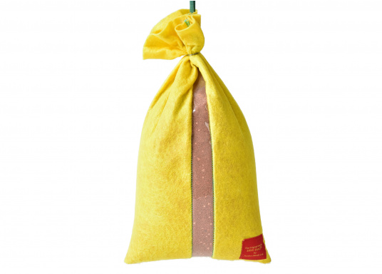 Der DRY-BAG sorgt für trockene Räume und ist wiederverwendbar. Einfach im Ofen erhitzen und schon ist der Luftentfeuchter wieder einsatzbereit. Gut geeignet für die Verwendung auf Booten, in Sommerhäusern, Wohnmobilen etc.