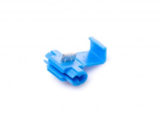 Zum schnellen und sicheren Verbinden von Kabeln. Durch spezielle Messerkontakte ist das Abisolieren überflüssig. Erhältlich in zwei Größen und Farben. (Bild 2 von 4)