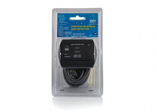Gasdetektor 600-GDmit integriertem optischen/akustischen Alarm für IhreSicherheit! Überwachen SieGaskiste, Flaschenstauraum,Bilge bzw. den Bereich unter dem Kocher/Herd. Der 600-GD mitZweikreisüberwachung sowieAnschlüssefür Zweitsensor und optionalemZubehör (Alarmgeber,Lüfter, etc.) für höchste Sicherheit.  (Bild 5 von 5)
