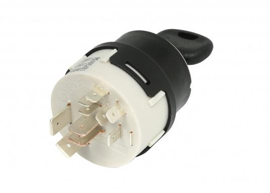 OEM quality! This professional ignition switch allows preheating for diesel engines. Also suitable for gasoline engines. Comes supplied with two keys.