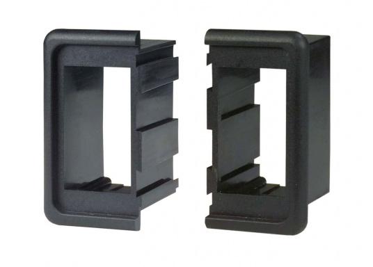 Passend für die Contura-Schalter bieten wir Ihnen formschöne Einbaurahmen an. Die Endstücke können mit optional erhältlichen Mittelstücken aneinandergereiht werden, so dass sich eine endlose und individuelleSchalterreihe zusammenstellen lässt. Verpackungseinheit: 1 Stück.