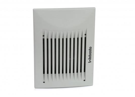 Warmwasser-Luft-Wärmetauscher und Heizgebläse, geeignet für Warmwasserheizungen oder Direktmontage in den Motorkreislauf.Erhältlich in zwei Ausführungen: Als 12 V oder 24 V Version.