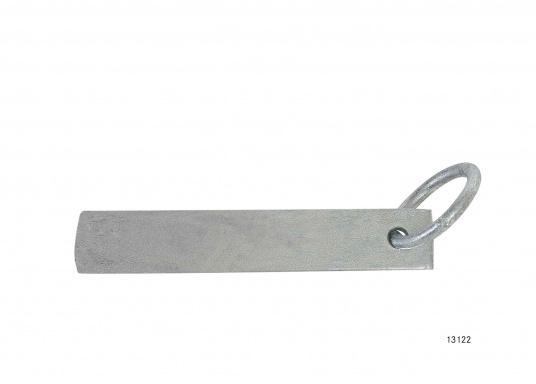 ideal zum Anlegen an felsigen Küsten geeignet  Stahl verzinkt  stabile Ausführung