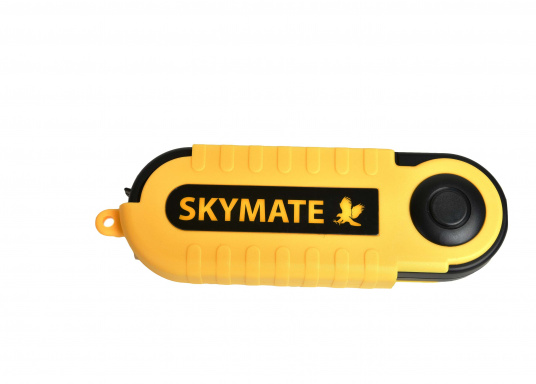 Der SKYMATE SM-18 ist ein qualitativ hochwertiger Windmesser mit hervorragenden Eigenschaften. Er bietetMessung von Maximum und Durchschnittswerten. Genauigkeit: +/-3%, Anzeige: kn, Bft, m/s, km/h, °C, °F. (Bild 3 von 6)