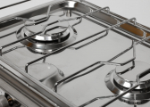 DELUXE Stainless Steel Gas Stove / 2 Burners