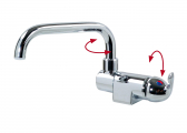 Single Lever Mixer / Long Swivel Spout