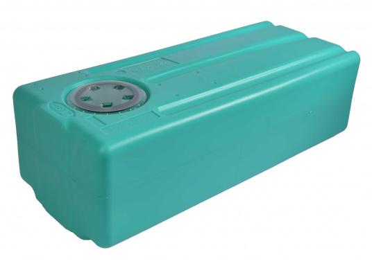 Stabile Tanks aus hochwertigem und geschmacksneutralem Kunststoff. Mit CE-Zulassung. Die Tanks werden mit einem Handlochdeckel geliefert. Als Anschluss können an beliebiger Stelle Stutzen in den Tank eingesetzt werden. Lieferbar in verschiedenen Größen.