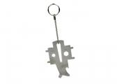 Key Ring with Multi Tool