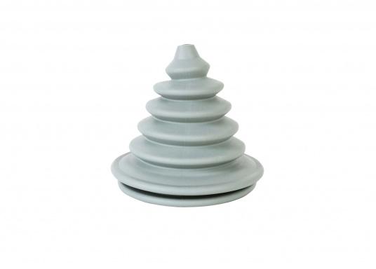 Faltenbälge aus hochwertigem Polyurethan-Gummi für die Durchführung von Steuerkabeln, Elektroleitungen und Benzinschläuchen. Ein Kabelschutzsystem ist separat erhältlich. (Bild 2 von 16)