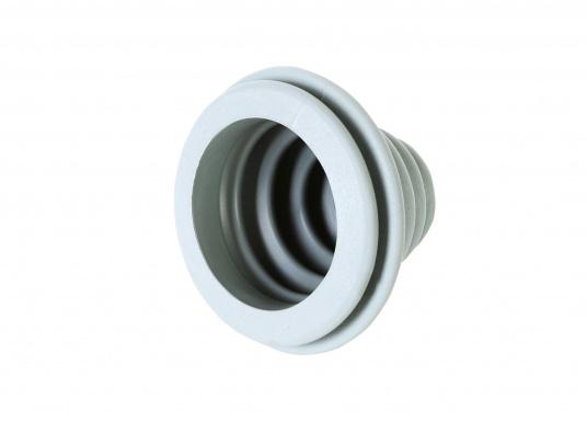 Faltenbälge aus hochwertigem Polyurethan-Gummi für die Durchführung von Steuerkabeln, Elektroleitungen und Benzinschläuchen. Ein Kabelschutzsystem ist separat erhältlich. (Bild 4 von 16)