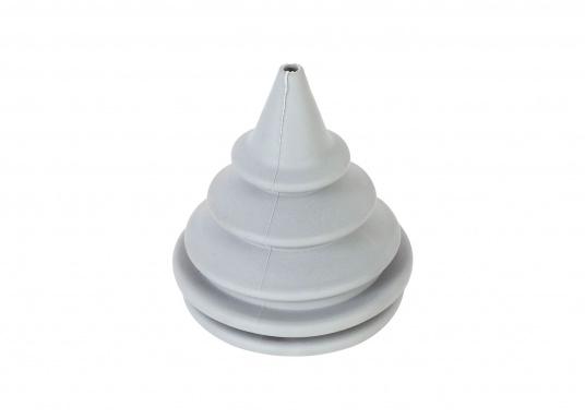 Faltenbälge aus hochwertigem Polyurethan-Gummi für die Durchführung von Steuerkabeln, Elektroleitungen und Benzinschläuchen. Ein Kabelschutzsystem ist separat erhältlich. (Bild 8 von 16)