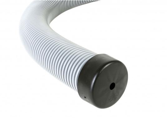 Faltenbälge aus hochwertigem Polyurethan-Gummi für die Durchführung von Steuerkabeln, Elektroleitungen und Benzinschläuchen. Ein Kabelschutzsystem ist separat erhältlich. (Bild 16 von 16)