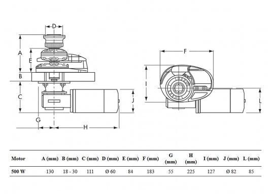 LOFRANS Ankerwinde project 500 / X1 ab 679,95 € jetzt kaufen | SVB ...