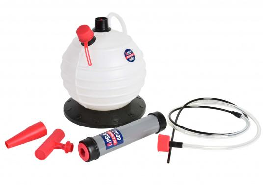 A really smart pump! Ideal for use at home, in the garden and on board.