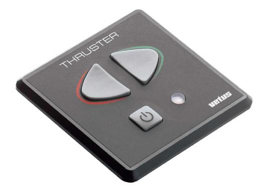 Ce panneau de commande permet de contrôler et protéger le propulseur. Un voyant indique une alarme si l&#39&#x3B;équipement est utilisé pendant plus de 2 minutes. Cette alarme est doublée d&#39&#x3B;une alarme sonore. Indice de protection : IP66.