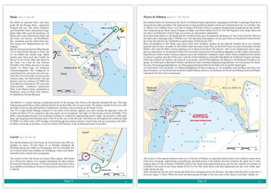 DK Chart Pack 9 -Balearic Islands: Mallorca, Ibiza, Menorca, Formentera. 4 passage charts, 20 charts, 33 marina charts, waypoints list.  (Image 4 of 6)