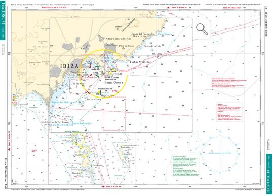 DK Chart Pack 9 -Balearic Islands: Mallorca, Ibiza, Menorca, Formentera. 4 passage charts, 20 charts, 33 marina charts, waypoints list.  (Image 6 of 6)