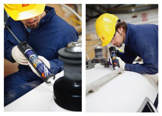 Sikaflex® - 292i ist ein pastöser, standfester 1-Komponenten Klebstoff, geeignet für dynamisch beanspruchte, strukturelle Verklebungen im Schiffs- und Bootsbau.  (Bild 2 von 2)