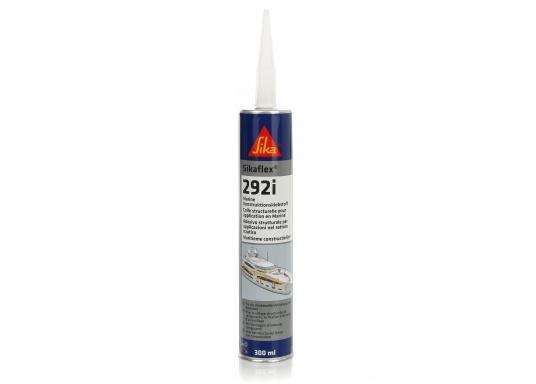 Sikaflex® - 292i ist ein pastöser, standfester 1-Komponenten Klebstoff, geeignet für dynamisch beanspruchte, strukturelle Verklebungen im Schiffs- und Bootsbau.