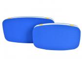 Pare-battage plat ovale