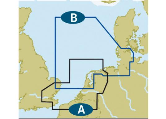C-MAP Niederlande und Belgien / Ijmuiden bis Esbjerg ...