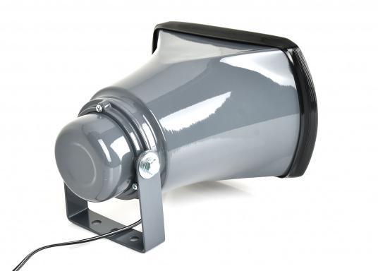 Diese seewasser- und korrosionsbeständigen Außenlautsprecher sind für den Einsatz an Wechselsprechanlagen geeignet. Max. 25Watt Belastbarkeit.  (Bild 2 von 3)
