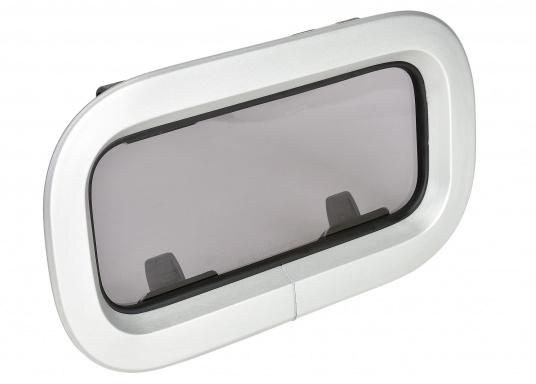 elegante Ausführung  große Fensterfläche  einfach in Bedienung und Montage  zum Öffnen  Lieferung inklusive Fliegengitter