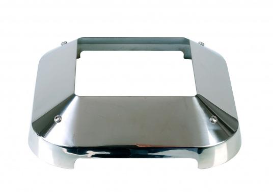 Ersatzkappe aus Edelstahl für NICRO - Marine Solarlüfter, eckige Form.