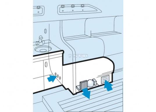 Ideal alsEinsteiger-Aggregate für kleinere Kühlrauminhalte und für den Einsatz in kühlen Gewässern. Erhältlich in zwei unterschiedlichen Bauformen mit gleicher Leistung.  (Bild 2 von 5)