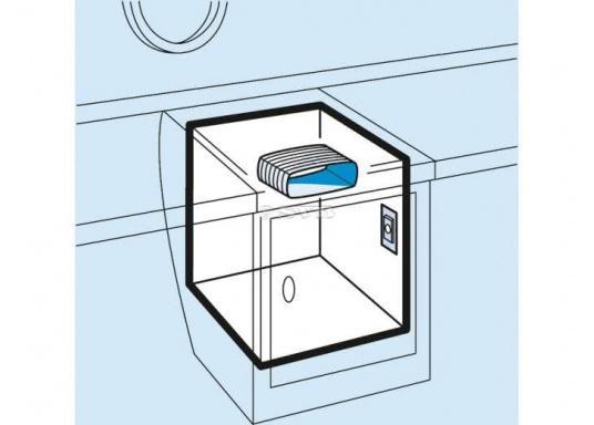 Dieser O-Verdampfer ist für für Kühlrauminhalte von 100 bis 130 Liter bei einer PU-Isolierung von 35 mm bzw. 50 mm geeignet. (Bild 2 von 3)